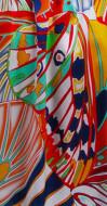 Morgenmantel in Kimono-Form